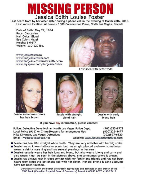 Core Group Security Consultants Las Vegas Missing Missing – Missing Person Template
